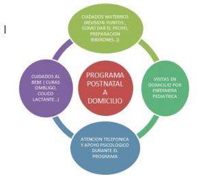 programa postnatal a domicilio